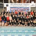 Richmond Swimming Club Poolside Photo Shoot