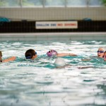 Synchro Swimming at Richmond Swimming Pool