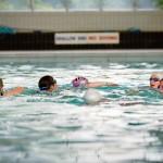 Synchro Swimming at Richmond Swimming Pool