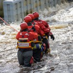 Swift Water Rescue Training at the Tees Barrage